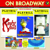 Playbill On Broadway Calendar 2015